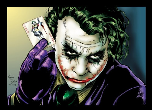 Joker by vanbriesen