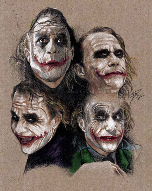 Joker expressions by TheAphex
