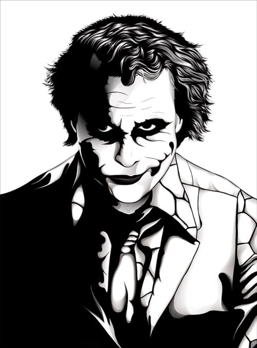 The Joker: Comic Book Inspired Artwork - designrfix.comDesignrfix.com: designrfix.com/inspiration/comic-book-inspired-artwork-joker