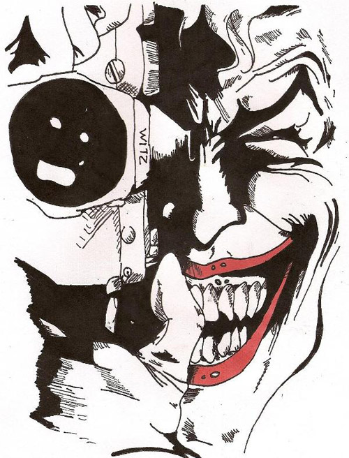 Joker - The Killing Joke by predator-fan