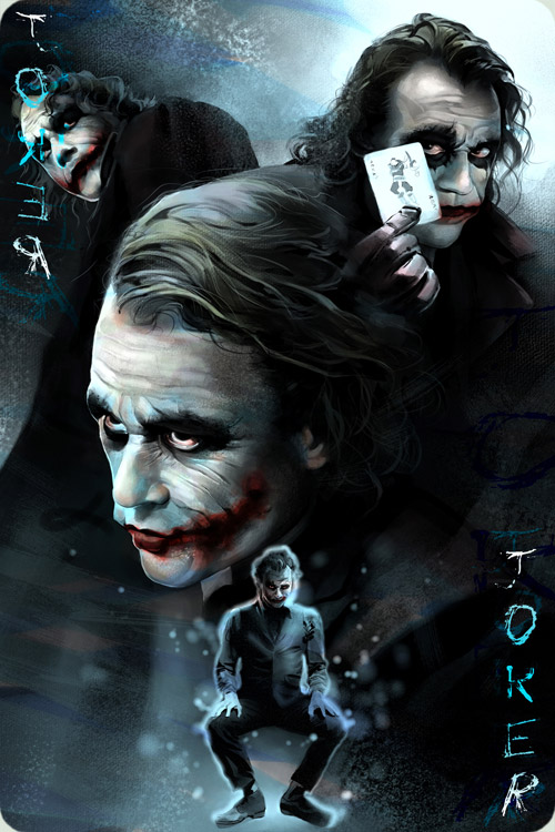 Joker by moiramurphy
