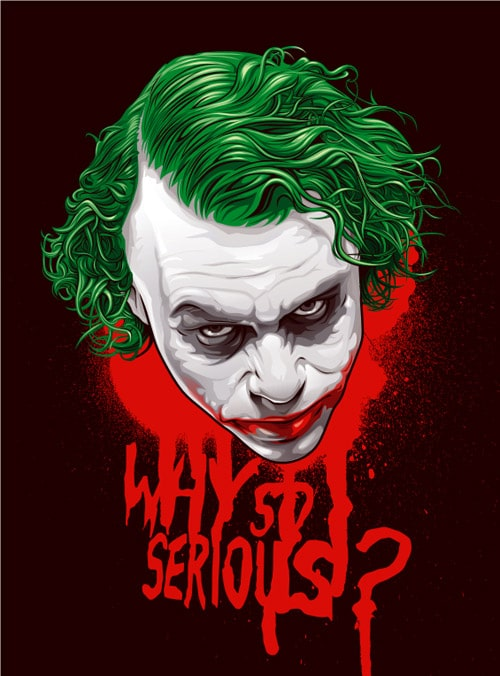 the joker by Orlando Aquije
