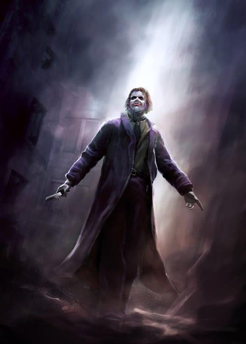 Joker for Daily sketch by kerko