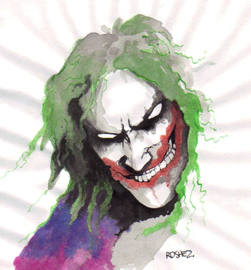 the Joker by theToonologist
