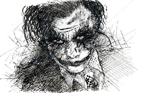 The Joker by Tiago Pimentel