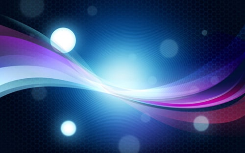 How to create abstract colorful background with bokeh effect in Photoshop
