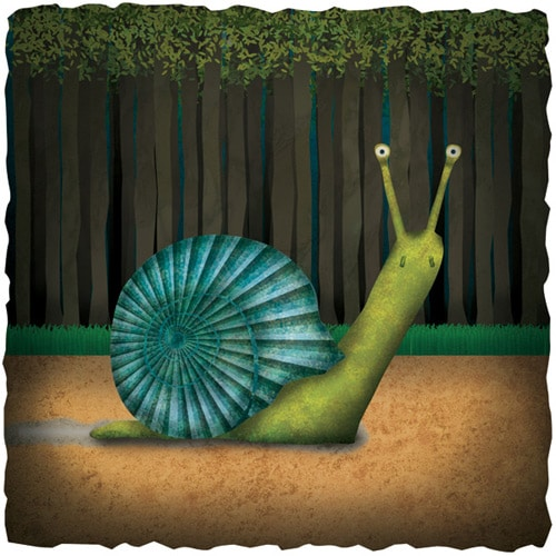 How to Create a Textured Snail Illustration in Photoshop