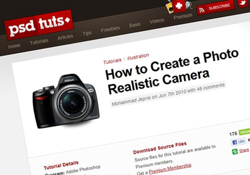 How to Create a Photo Realistic Camera
