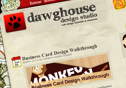 Business Card Design Walkthrough