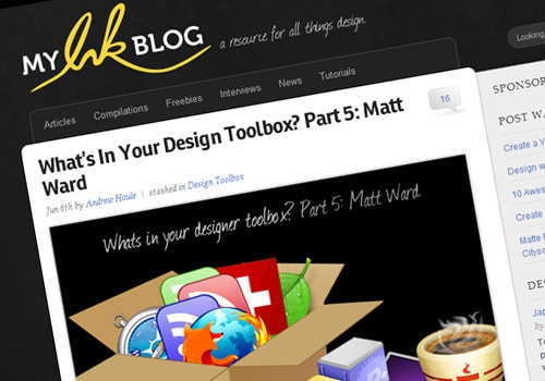 What's In Your Design Toolbox? Part 5: Matt Ward