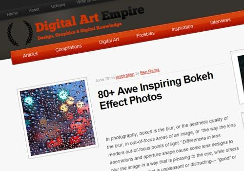 80+ Awe Inspiring Bokeh Effect Photos