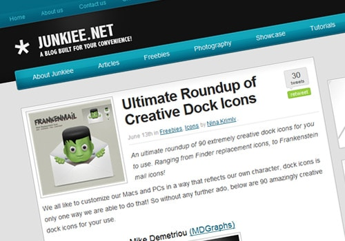 Ultimate Roundup of Creative Dock Icons