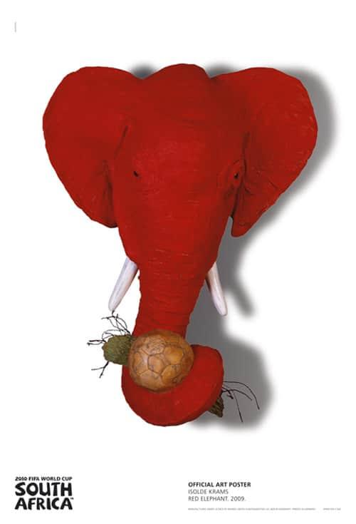 Isolde Krams - Red Elephant