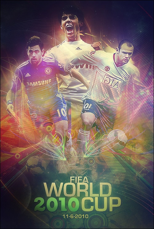 World Cup 2010 Poster by FBM721
