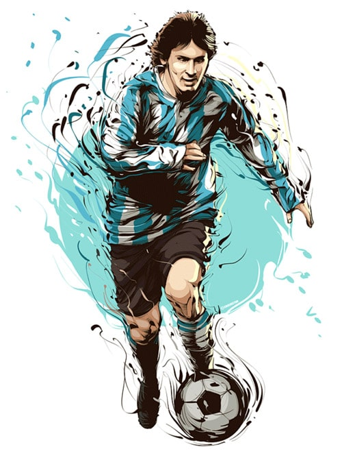 Messi - fooball player