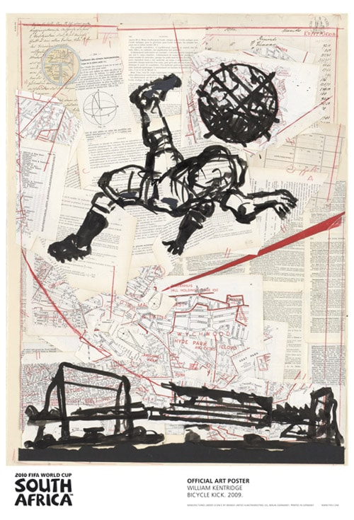 William Kentridge - Bicycle Kick