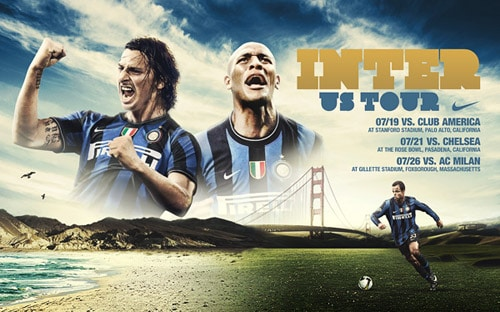 Inter / Barca US tour