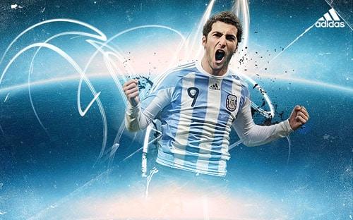 Gonzalo Higuain - Adidas World Cup