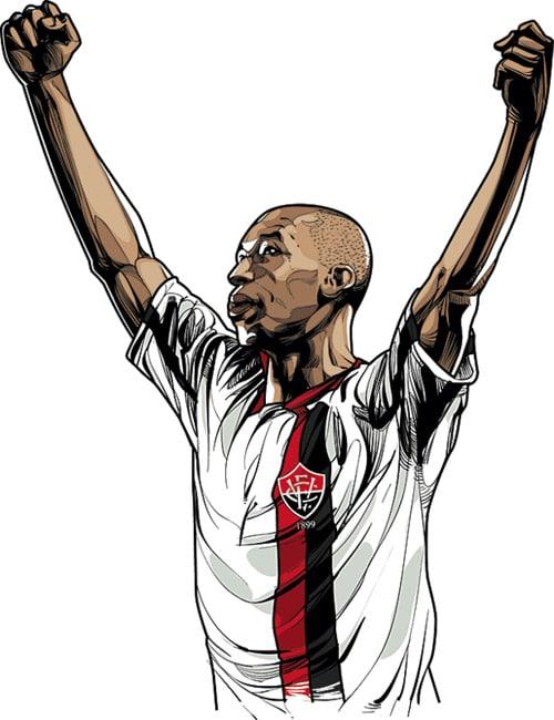 Dinei - brazilian fooball player
