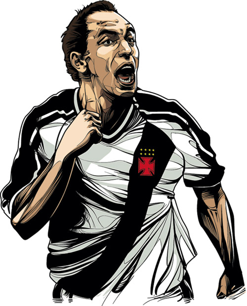 Edmundo - brazilian fooball player