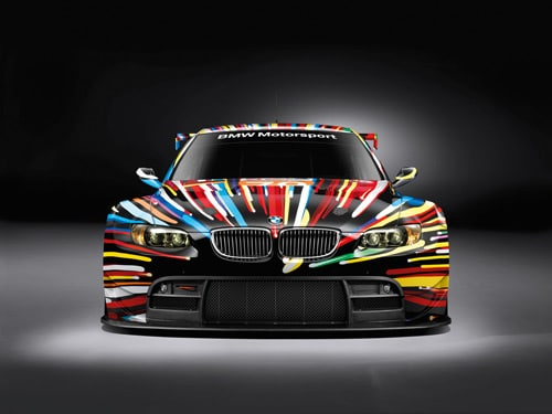 Jeff Koons BMW M3 GT2 art car - Front
