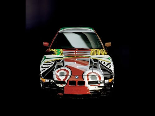 1995 BMW 850 CSi Art Car by David Hockney - Front