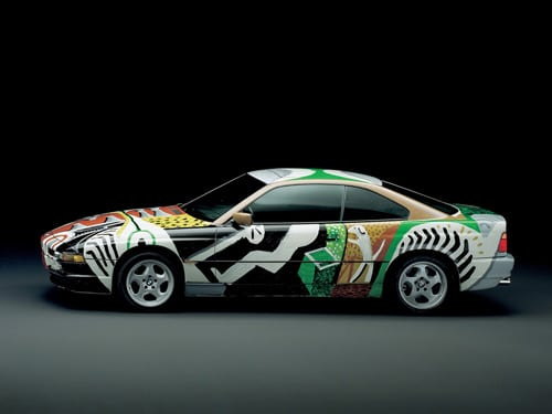 1995 BMW 850 CSi Art Car by David Hockney - Side