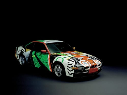 1995 BMW 850 CSi Art Car by David Hockney - Front And Side