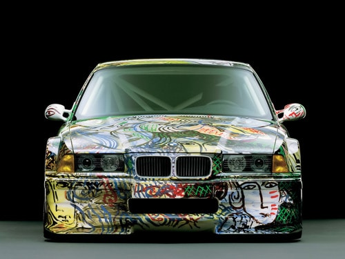 1992 BMW 3 series Touring Art Car by Sandro Chia - Front