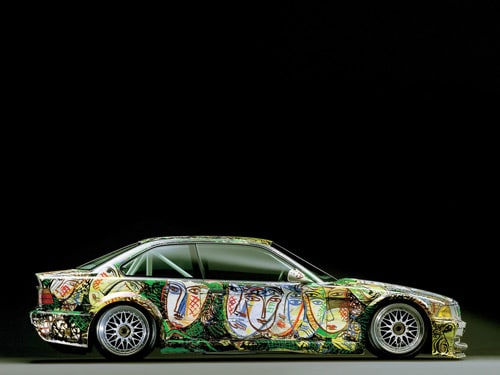 1992 BMW 3 series Touring Art Car by Sandro Chia - Side