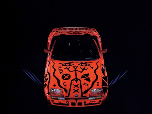 1991 BMW Z1 Art Car by A. R. Penck - Front Top