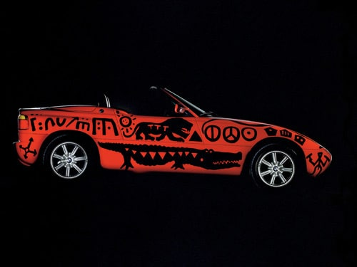 1991 BMW Z1 Art Car by A. R. Penck - Side