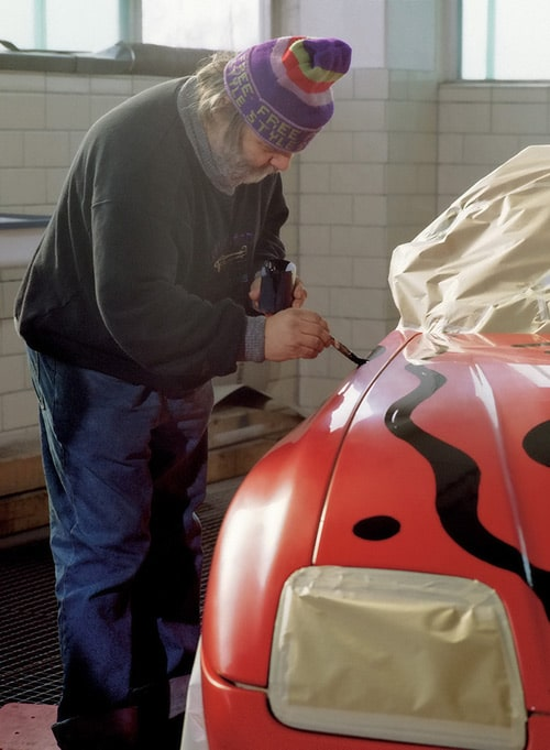 1991 BMW Z1 Art Car by A. R. Penck - A R Penck