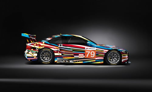 Jeff Koons BMW M3 GT2 art car - Side