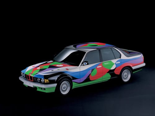 1990 BMW 730i Art Car by Cesar Manrique - Front And Side