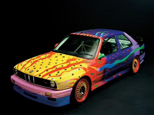 1989 BMW M3 Group A Raceversion Art Car by Ken Done - Front And Side