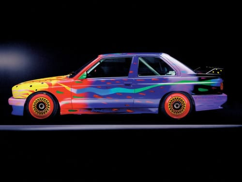 1989 BMW M3 Group A Raceversion Art Car by Ken Done - Side