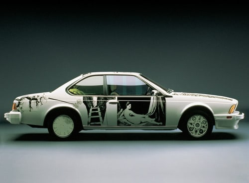 1986 BMW 635 CSi Art Car by Robert Rauschenberg - Side