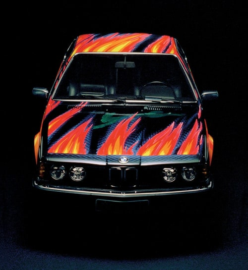1982 BMW 635 CSi Art Car by Ernest Fuchs - Front