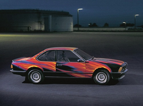 1982 BMW 635 CSi Art Car by Ernest Fuchs - Side