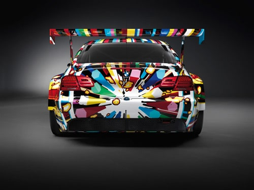 Jeff Koons BMW M3 GT2 art car - Rear