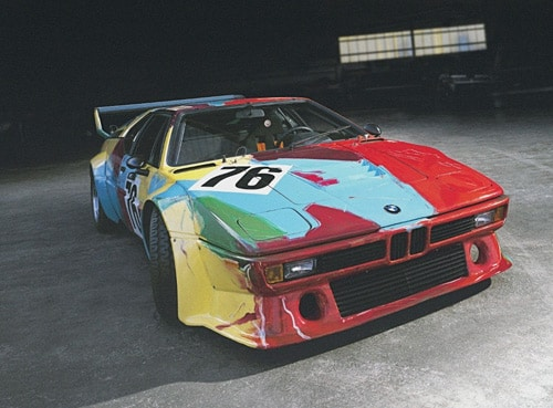 1979 BMW M1 Art Car by Andy Warhol - Front