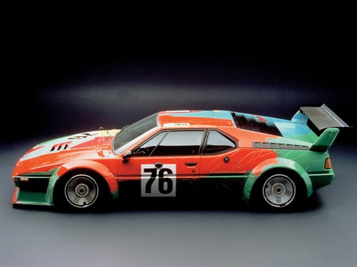 1979 BMW M1 Art Car by Andy Warhol - Side