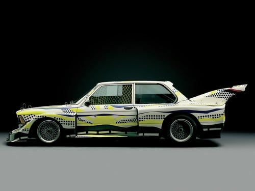 1977 BMW 320i Group 5 Raceversion Art Car by Roy Lichtenstein - Side