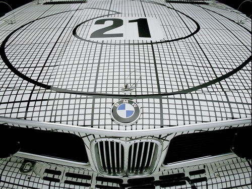 1976 BMW 3.0 CSL Art Car by Frank Stella - Front Section