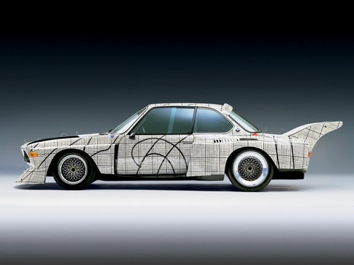 1976 BMW 3.0 CSL Art Car by Frank Stella - Side
