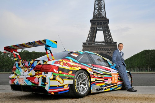 Jeff Koons BMW M3 GT2 art car - Jeff Koons