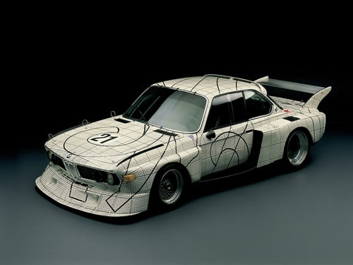 1976 BMW 3.0 CSL Art Car by Frank Stella - Front And Side
