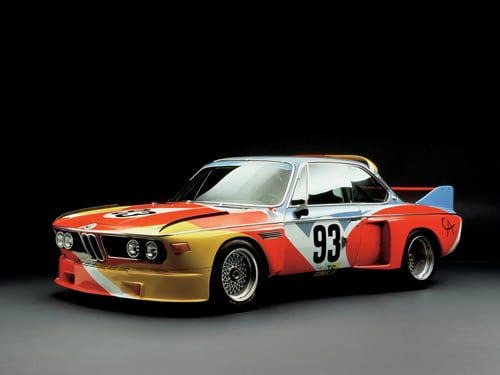 1975 BMW 3.0 CSL Art Car by Alexander Calder - Side Angle