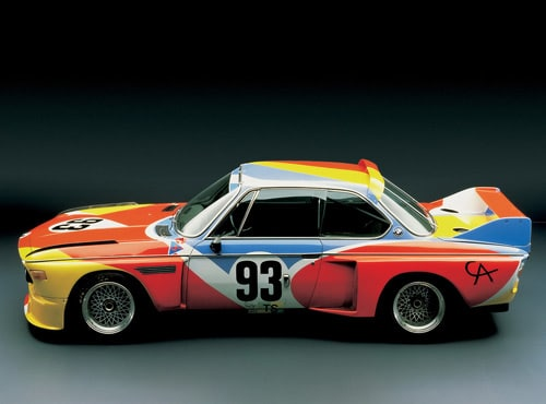 1975 BMW 3.0 CSL Art Car by Alexander Calder - Side